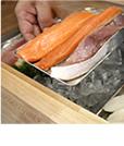 3.食材の乾燥を抑え、鮮度を守ります。