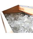 6.氷だけで冷やすので、電気代0円